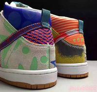 2020 Nuovo arrivo Thomas Campbell X Sb zoom Dunk Shoes Casual Shoes High Premium di alta qualità Che cosa The a tema SB Dunk High Athletic Shoes 42