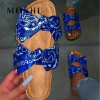 صنادل الصيف النساء 2020 امرأة أحذية كورك الصنادل الأحذية المسطحة أحذية أزياء السيدات شاطئ العلامة التجارية ساندليس المرأة Sandalias موهير Y200620