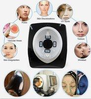 المحمولة UV + RGB + PL تحليل العناية بالبشرة الوجه سبا صالون معدات تجميل مكبرة محلل مصباح جهاز