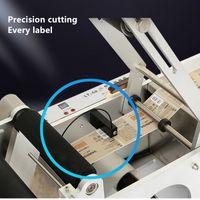 진공 식품 씰링 기계 IRISleemultifunctional 반자동 라운드 병 라벨링 날짜 프린터