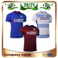 20/21 CD Cruz Azul Futebol Jerseys 2021 Home Romo Escobar Rodriguez Camisa Alvarado Pineda 3rd Futebol Uniforme