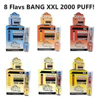 Newest Bang XXL Disposable Vapes Pen Device 800mAh Batterys ...