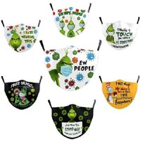 Hot sale Halloween and Christmas 3D digital printing protective masks dust-proof and anti-haze filter children's masks