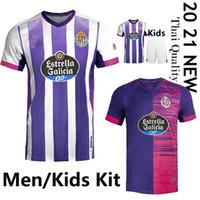 2021 Real Valladolid Soccer Jersey 20 21 Fede S. R. Alcaraz Oo Sergi Guardiola Óscar Plano Camisetas de Fútbol Men Kids Football Shirts