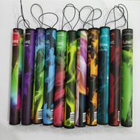 Tek kullanımlık vape shisha zaman elektronik nargile sigara 20 adet / paket plastik tüp ön doldurulmuş shi sha buharlaştırıcı kiti ile
