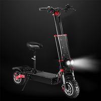 Elektryczny skuter 5600W Podwójny silnik Składany rower 60V bateria litowa 11 calowa opona max prędkość 85km / h Off-road Electric deskorolka dla dorosłych