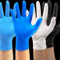luvas descartáveis nitrilo luva luvas de protecção à prova de água e anti-corrosão 100pcs / lot Limpeza Luvas de limpeza Ferramentas T2I51529