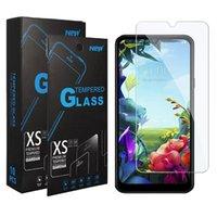 huawei p40 lite pのためのクリアビューの強化されたガラス2.5DスクリーンプロテクターP15P y6p y7p-2020 Y8P-2021 Y9A 1プラスNord NORD NORD NORD N200 5G T-MOBILE REVVL V PLUS 5G MOTO Gスタイラス5G