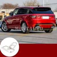 Land Rover Range Rover Sport Arka Egzoz Susturucu Uç Kapak 2018-2019 2adet için