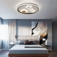 Nordic modern LED ceiling lamp Nordic modern minimalist creative lighting warm macaron bedroom children's room ceiling light RW441