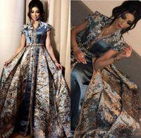 Элегантные вечерние платья Middle East Dubai Абая Кафтан Kleider Формальное 2020 Пром платья партии платья вечера Носите халат де вечер