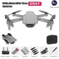 E99 Pro Aerial Photography 4ch 2.4GHz WiFi Altitudine Tenere la modalità senza testa con fotocamera RC Drone Kid Toy One Key ritorno pieghevole