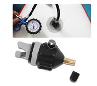 노로 젓는 보트를 공기 밸브 어댑터 섭 보드 카약 펌프 어댑터 풍선 공기 밸브 부착 카약 액세서리 부품 카약 보트