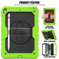360 الدورية ثلاث طبقة هجين صدمات حامل القضية لباد برو 10.9 11 10.2 Samsung Galaxy Tab A T590 S6 P610