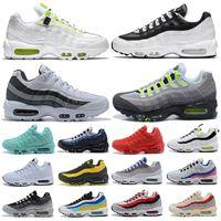 95 hommes chaussures de course dans le monde entier Pack Yin Yang Triple Noir Blanc Neon mode plate-forme extérieure formateurs pour femmes baskets de sport