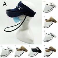 2020 protective hat Anti- spitting Protective Hat Detachable ...