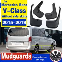 Pour Mercedes Benz V - Classe 2015 ~ 2019 W447 Sans côté de Fender Mud Splash Guard Flap Garde-boue Bavette Accessoires