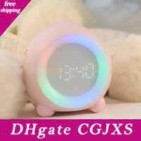 Nuova Smart Alarm Clock Creative Multi -Function App Bluetooth Speaker Mini Digital Clock Dormire Night luce 10092