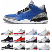 2020 retro uomini 3s Pattini di pallacanestro Nakeskin