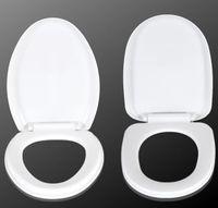 플라스틱 변기 뚜껑 변기 커버 타원형 및 사각형 전압 / 느린 드롭을 견딜 / 음소거 시트 커버 해 출하 GGA3676