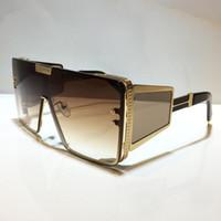 102 Óculos de sol para homens e mulheres Estilo de verão BPS Anti-ultravioleta retro placa redonda placa completa moda óculos aleatório caixa 10