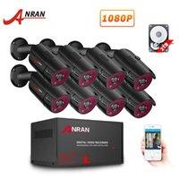 Anran AHD DVR نظام الأمن CCTV 1080P IR للرؤية الليلية نظام الكاميرا AHD Indooroutdoor 4/8 CH DVR مراقبة الفيديو