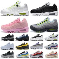 nike air max 95 airmax 95s Shoes Chaussures De Course Hommes Femmes Throwback Future Greedy Triple Blanc Jaune Pull Noir Noir Bred Designer Sport Sneakers 36-45