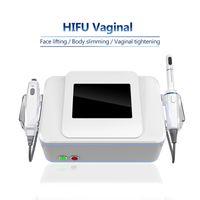 3 in 1 Vajinal Gençleştirme Makinesi HIFU Vajinal Sıkma Cihazı Profesyonel HIFU Yüz Germe Vücut Zayıflama 360 ° Vajina Makinesi Sıkın