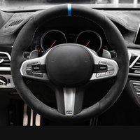 Schwarzes Auto Lenkradabdeckung BMW M Sport G30 G31 G32 G20 G21 G14 G15 G16 X3 G01 X4 G02 X5 G05
