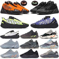 adidas Kanye west 700 v2 v3 shoes 700 Runner orange phosphorescent os kanye Chaussures de course pour homme carbone bleu V2 inertielle statique Geode Utility Noir Mesdames Sneakers