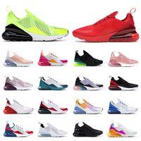 nike air max 270 airmax 270s 최고 품질 NK 27C 남성 여자 테니스 Runnig 트리플 블랙 메쉬 화이트 대학 레드 공기 신발최대AIRMAX 클래식 운동화 스니커즈