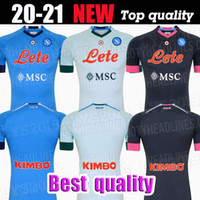 Qualità della Tailandia 2020 soccer jersey casa 2020 magliette di calcio Napoli ZIELINSKI HAMSIK INSIGNE MERTENS CALLEJON LETTORE ROG 2021 napoli