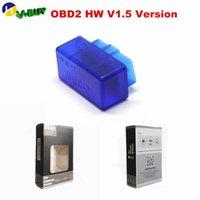 100pcs / lot V01L2 / V01L2-1 Super Mini ELM327 v1.5 Outils de diagnostic avec PIC25K80 Chip Bluetooth voiture de diagnostic Scanner pour Android