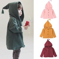 JAYCOSIN Toddler Infant Baby Kids Girls Boys Solid Warm Hooded Coat Outfits Clothes boy girls clothing sport brand print