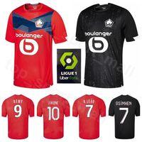 2020 Lille Jersey 20-21 futebol OSIMHEN Ikone REMY BAMBA YAZICI FONTE SANCHES CELIK André Leão PEPE Maignan ARAUJO Futebol shirt Kits