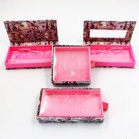 크라운 래시 박스 도매 밍크 속눈썹 케이스 래시 홀더와 우아한 상자