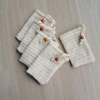 9 * 14 سنتيمتر صنع فقاعات حقيبة الصابون التوقف كيس الحقيبة التخزين الرباط حقيبة حامل الجلد تنظيف الرباط حامل حمام اللوازم LJJP323