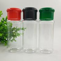 البلاستيك التوابل الملح الفلفل الهزازات التوابل جرة يمكن شوى BBQ البهارات خل زجاجة أدوات مطبخ الإبريق الزجاجي الحاويات مطبخ BH3489 DBC