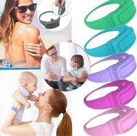 Hot Garden Home Hand Sanitizer disinfettante Sotto-imballaggio del braccialetto del silicone Wristband Distributore di Wearable Hand Sanitizer Dosatori