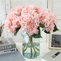 Party Supplies Artificial Hydrangea Flower Head 47cm Fake Si...