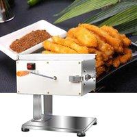 qualitativ hochwertige Elektro-Desktop Fleisch Slicer Edelstahl Scheibe Schneidemaschine Multifunktions kleine Fleischschneidemaschine Maschine