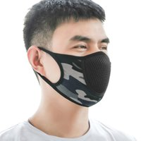 Máscara Facial esporte face máscara protetora Adulto Dustproof Tampa Masques completa reutilizáveis Máscaras Anti poeira respirador gratuito Navio Elastic populares
