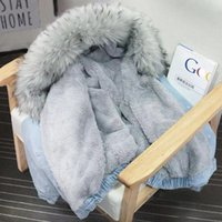 Bella Philosophie Winter-Frauen Denim-Pelz-Mantel mit Kapuze Street Dame Casual Jacken Parka Weibliche Einreiher Outwear 200921