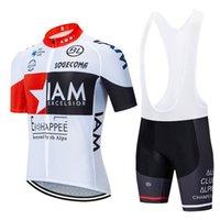 IAM الأبيض 2021 الزي الرسمي الموالية ركوب الدراجات جيرسي مجموعة الدراجة الجبلية الصيف ركوب الدراجات دراجات ملابس ملابس رجالية ملابس ركوب الدراجات MTB دراجة قمصان