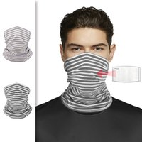 Mens Scarfs Cycling Face Mask Protective Masks With Filter Winter Warm Wrap Neck Ring For Women Outdoor Sport Scarves Xxcee