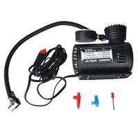 12v coche eléctrico automático de la bomba del compresor de aire portátiles 300ps neumático del