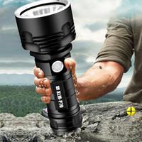 YB007 XHP70 Супер мощный светодиодный фонарик XM-L2 Тактические факел USB аккумуляторная Linterna Водонепроницаемый лампы Ultra Bright Фонарь