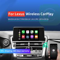 سيارة اللاسلكية التفاح كاربلا لكم لكزس nx es لنا هي CT RX GS LS LX LC RC 2014-2019 الوسائط المتعددة اللاسلكية التفاح Carplay Android Auto Retwroofit Kit