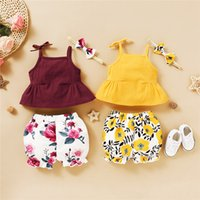 2020 Newborn Baby Girl Clothes Summre Infant Toddler Kids Cl...