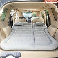 Araç SUV Hava Şişme Seyahat Yatak Yatak Geri Koltuk Yastık Kamp Mat Yastık Açık Plaj istirahat Pad Universal Sleeping
